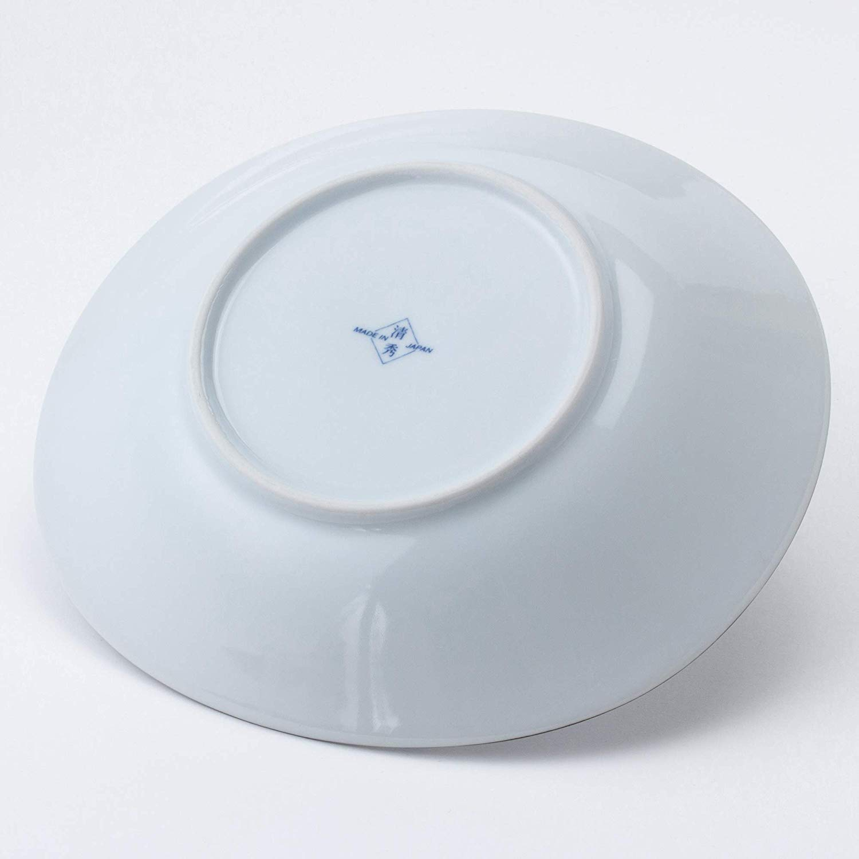 Juego de platos de porcelana japoneses ukiyo dise/ño indigo Saikai Pottery 31302