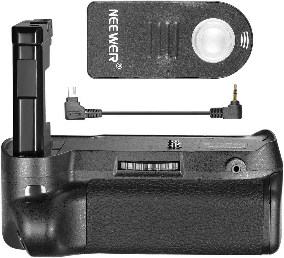 Neewer Remote Control Vertical Battery Grip Work with EN-EL14 Battery Compatible with Nikon D3100//D3200//D3300//D5300 SLR Digital Camera