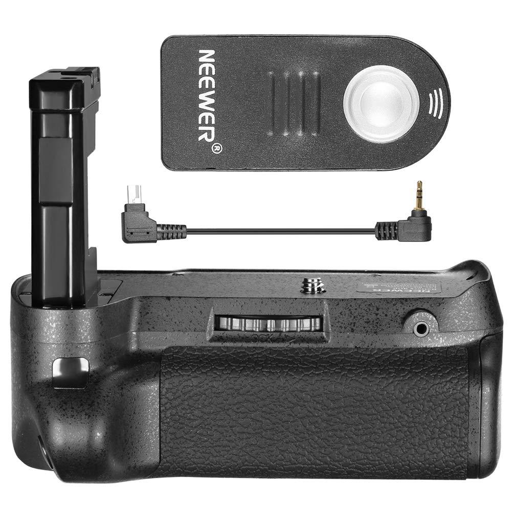 Neewer Remote Control Vertical Battery Grip Work with EN-EL14 Battery Compatible with Nikon D3100/D3200/D3300/D5300 SLR Digital Camera