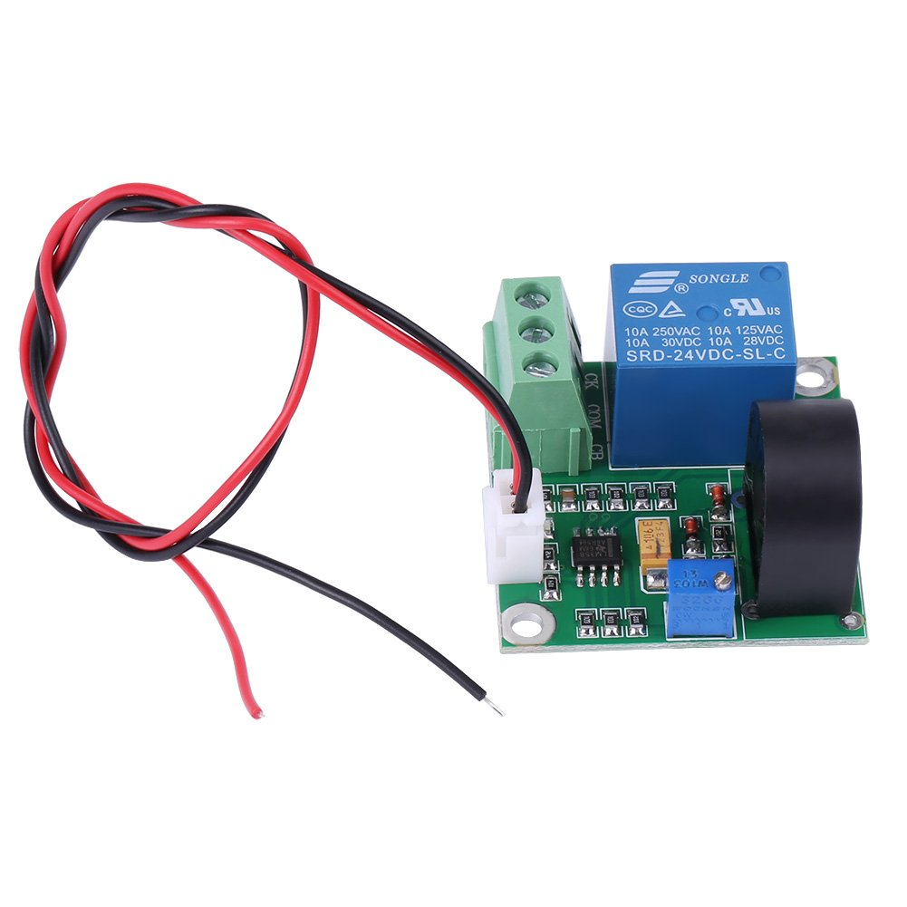 AC Current Detection Module 0-10A Switch On-off Output Current Sensor Module by Walfront (Image #2)