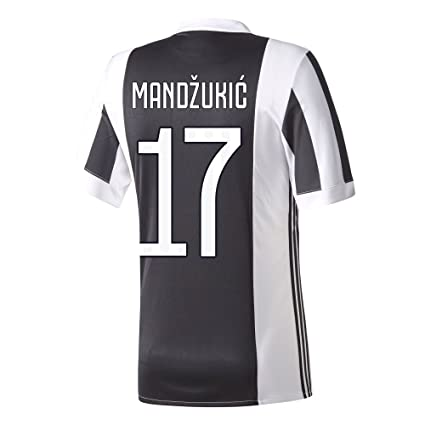info for 27273 a0cd0 Amazon.com : adidas Juventus Home Mandzukic Jersey 2017/2018 ...