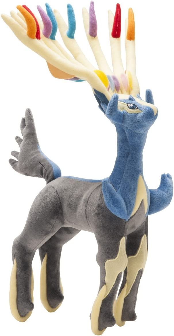 B00FLFLN1Y Pokemon Center Original (18.5-Inch) Poke Plush Doll Xerneas 61tcnypBcOL.SL1260_