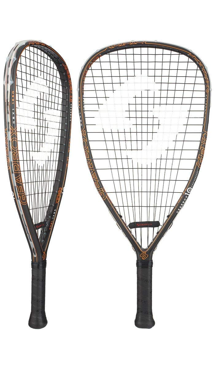 Gearbox GBX1 ''10th Anniversary Edition'' Racquetball Racquet (170g)(Quad)(Yellow)(3 15/16'' Grip)