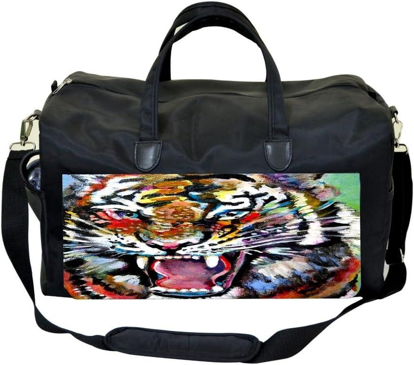 Watercolor Tiger Weekender Bag