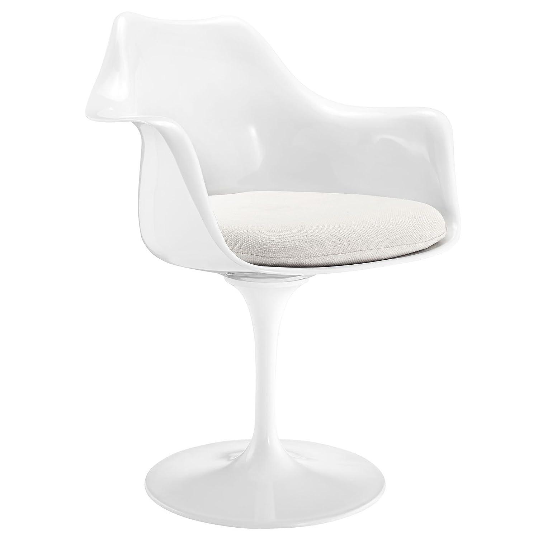Amazon Modway Lippa Modern Dining Armchair With Fabric