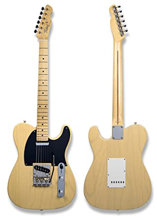 tokai-super-vee - Guitarra eléctrica estilo Telecaster Blonde: Amazon.es: Instrumentos musicales