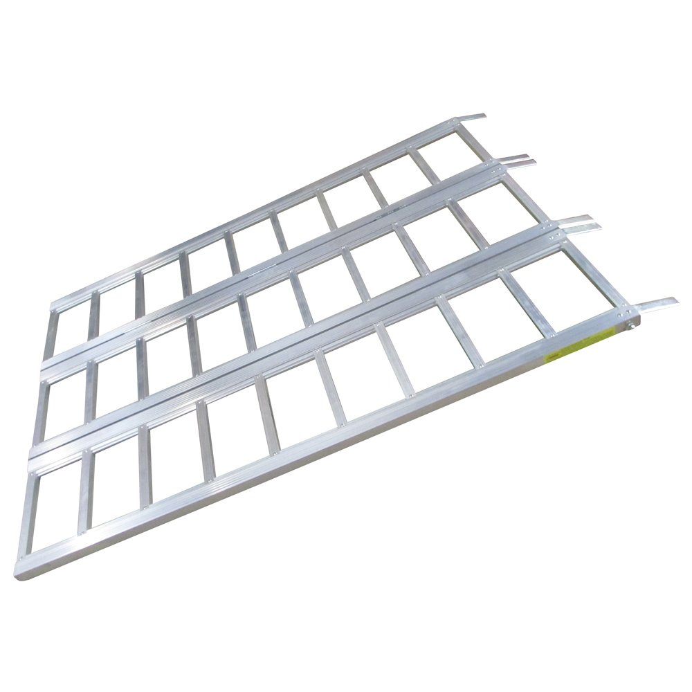 WASP 52101 6-ft Tri-Fold Aluminum Loading Ramps
