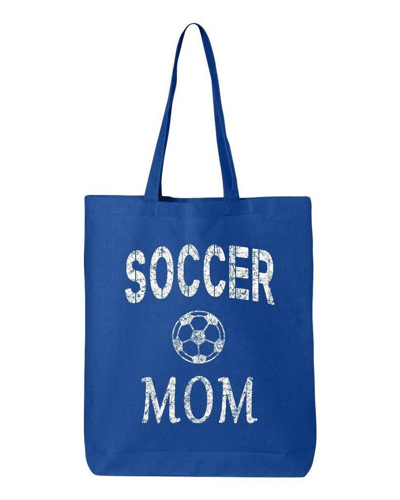 一流の品質 shop4ever Soccer Momコットントートバッグ母の日再利用可能なショッピングバッグ6 oz oz Eco ロイヤル 12 oz ブルー ブルー S4E_1215_SoccerMom_TB_QTBG_Royal_3 B06XX4NRPN ロイヤル, 財布屋:56953d47 --- mcrisartesanato.com.br