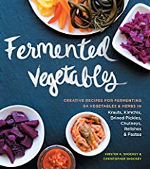 Even beginners can make their own fermented foods! This easy-to-follow comprehensive guide presents more than 120 recipes for fermenting 64 different vegetables and herbs. Learn the basics of making kimchi, sauerkraut, and pic...