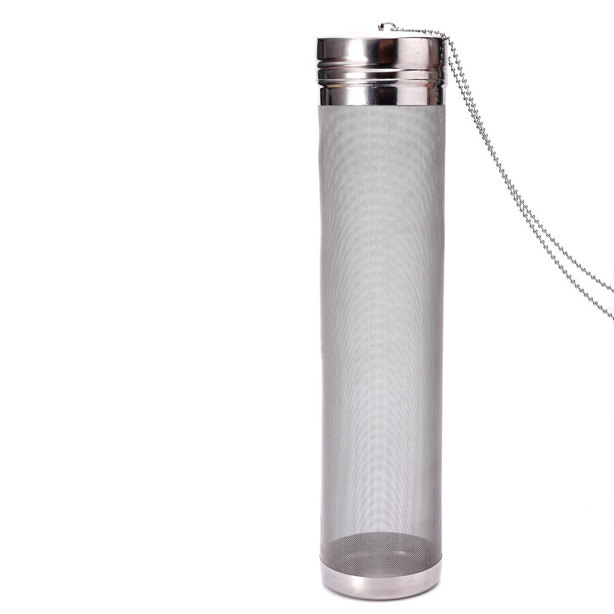 300 Micron Mesh Stainless Steel Dry Hopper Brewing Filter for Cornelius Kegs Corny Keg Home Brewing (2.8 x 11.8 in)