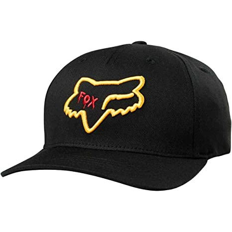 Image Unavailable. Image not available for. Color  Fox Racing Youth Czar  Head 110 Snapback Hat-Black 97668145addb