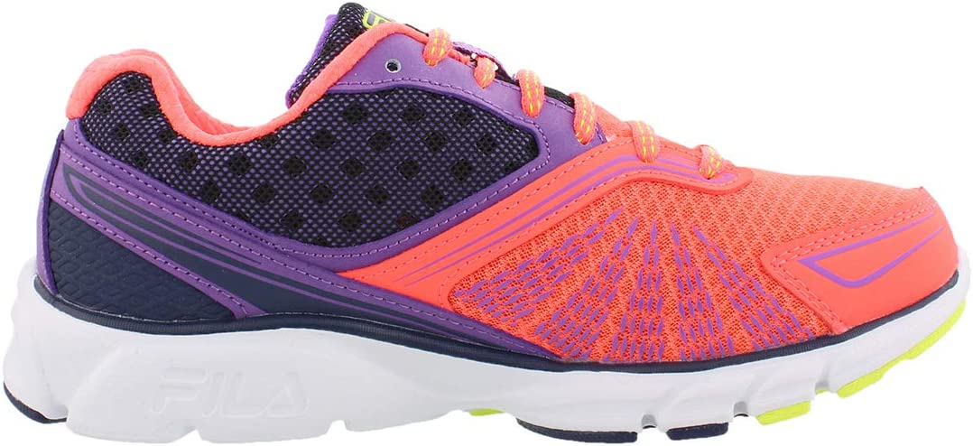 Fila Memory Electro Volt 2 Running Women's Shoes Orange/Purple/Grey