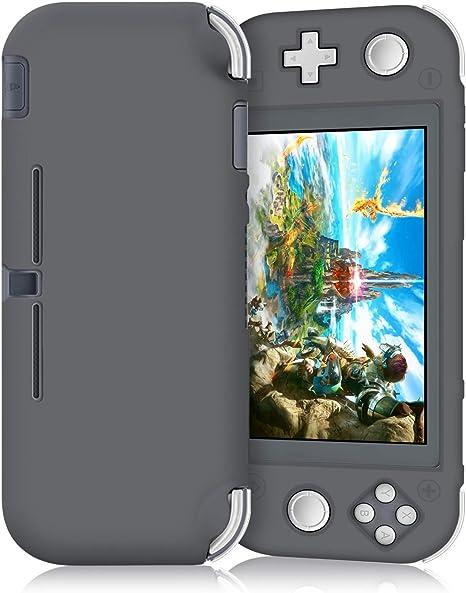 Funda de silicona para Nintendo Switch Lite 2019: funda de ...