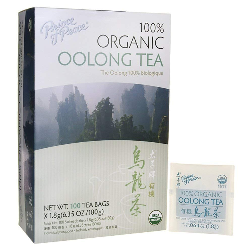 Prince of Peace Organic Oolong Tea - 100 Tea Bags (Pack of 3) by Prince Of Peace