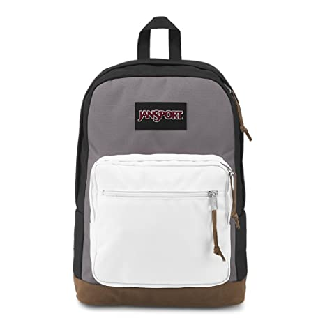 4a2964a0b322 Amazon.com  JanSport Right Pack Laptop Backpack - Black Grey Horizon ...