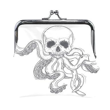 Amazon.com: Un calavera humana con tentacles Octopus para ...