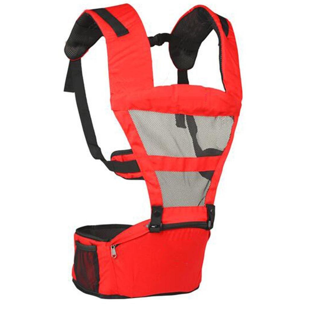 X & Y Y Y Transpirable Le hombros multifunción niño taburete de cintura Correa Cinturón de Seguridad Rojo, Rojo 138b7b