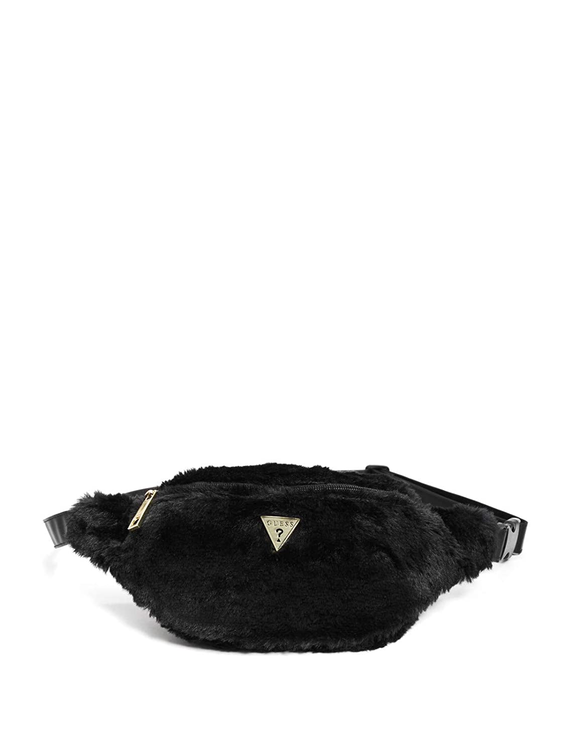 GUESS Factory Women's Logo Faux-Fur Fanny Pack GuessFactory