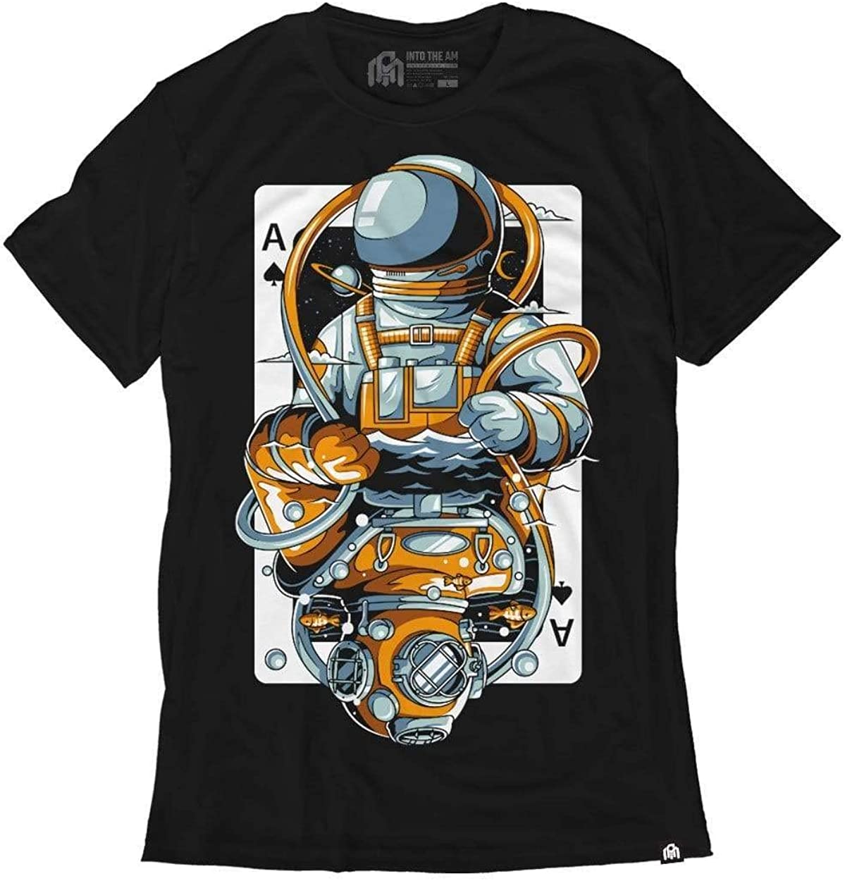 INTO THE AM Men's Graphic Tees - Short Sleeve T-Shirts for Men