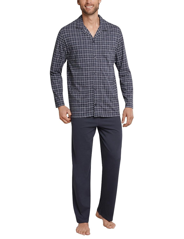 33598dff3c Schiesser Men's Selected Premium Long Pyjama Set: Amazon.co.uk: Clothing