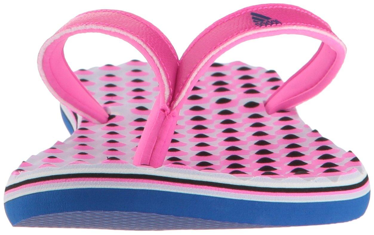 Chancleta Collegiate eezay Adidas shock para mujer / shock Pink