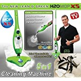 Everything Imported ™ H2O MOP X5 STEAM MOP 5 IN 1 Floor Cleaning Best Electric Portable CLEANER STEAMER