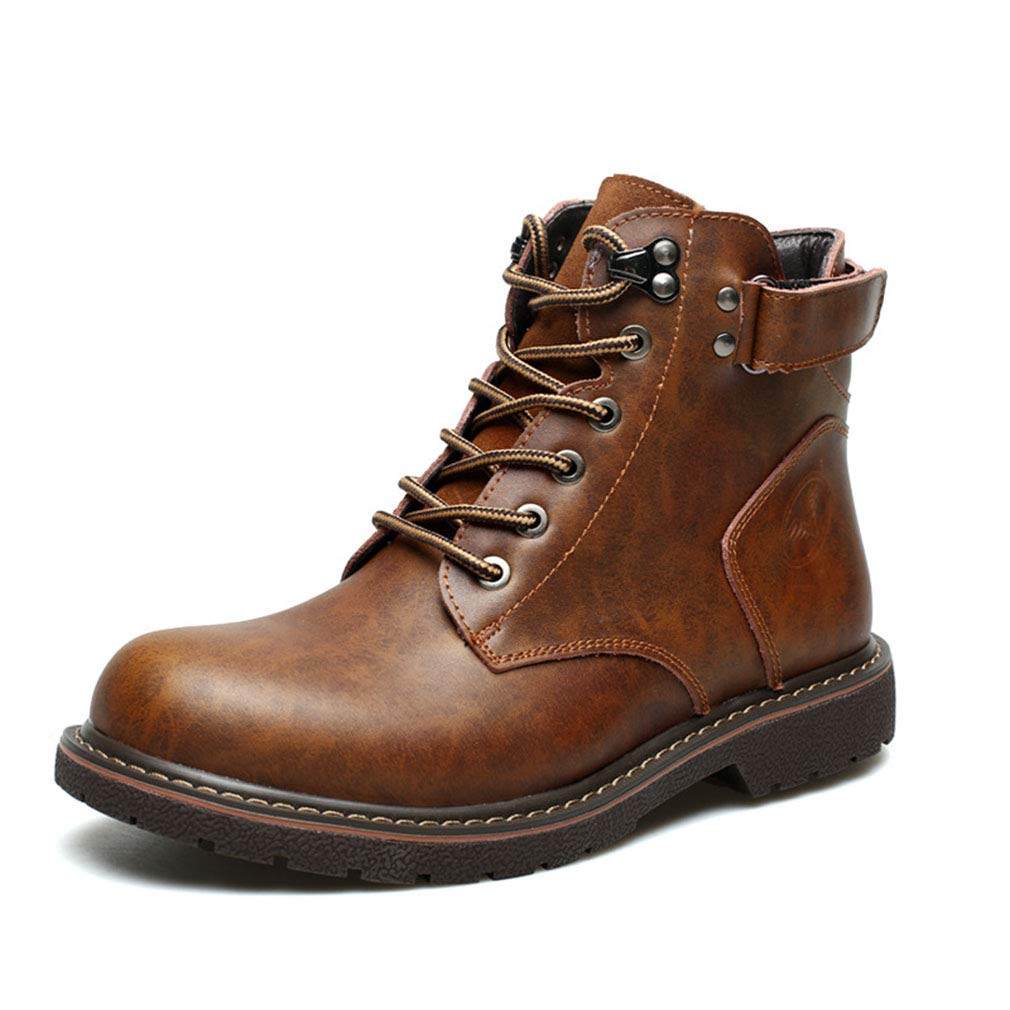 Gfphfm ' Men ' Gfphfm S Stiefel, New Winter Plus Velvet Martin Stiefel Casual Leather Fashion Cotton Stiefel Keep Warm Stiefel,A,38 8a36c8