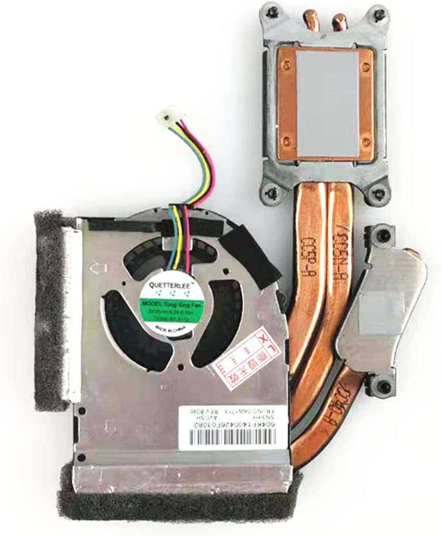 QUETTERLEE Replacement New Independent Graphics CPU Cooling Heatsink Fan for Lenovo Thinkpad T420S T420SI Series, 04W1713 Heatsink Fan
