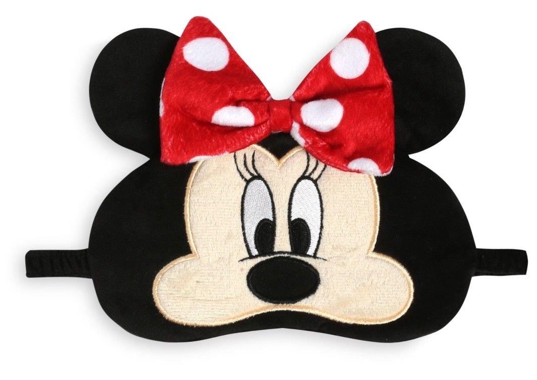 neuf avec /étiquette Peluche ~ Primark Minnie Mouse /Œil Masque de sommeil dormant BLACK OUT