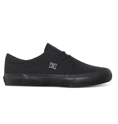 4e905c00baae DC Women's Trase TX Skate Shoe Black, 4 DD US