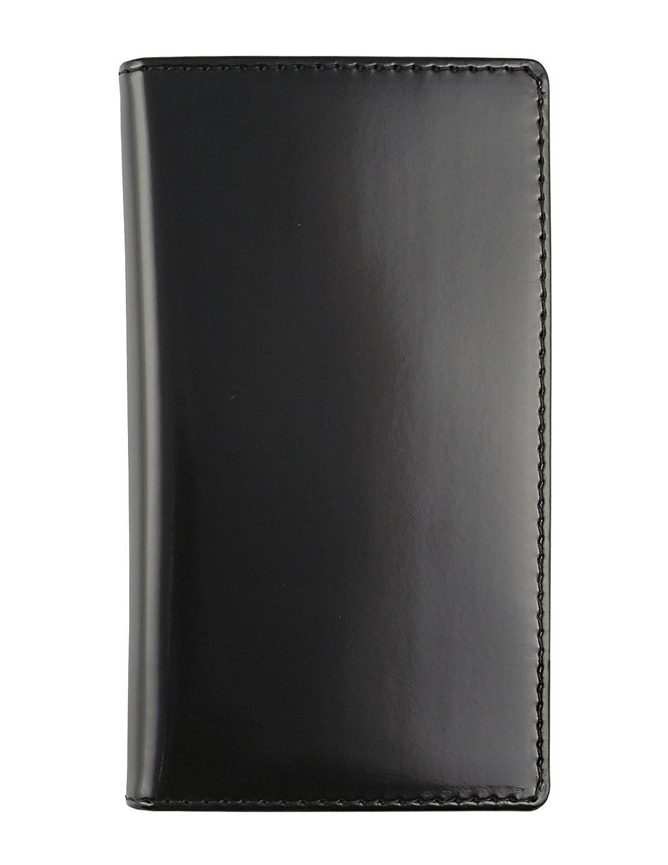 Maletí n de bolsillo en cuero Basic 8x15 semanal- Hecho a mano en Italia - negro