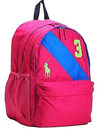 Amazon.com | Polo Ralph Lauren Banner Stripe II Large Backpack ...
