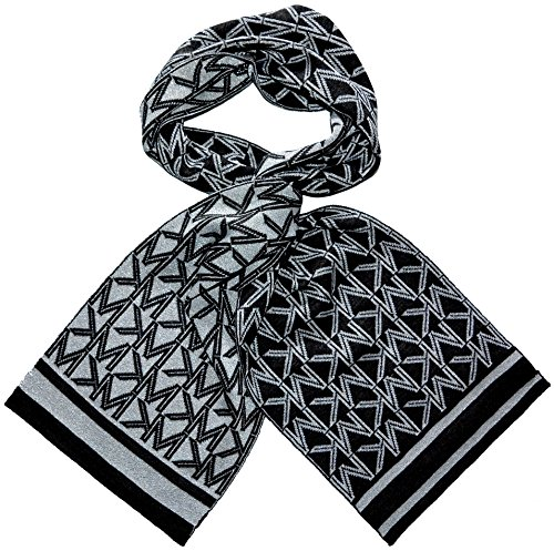 Michael Kors Metalic Scarf MK Logo Dazzling Knit Derby - Sf Michael Kors