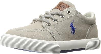 Polo Ralph Lauren Kids Kids Faxon II SP Mid Nvy Msh//Red PP Sneaker