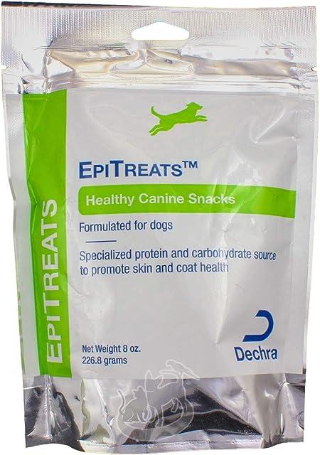 3 Packs Dechra EpiTreats Healthy Canine Treats, 8oz each
