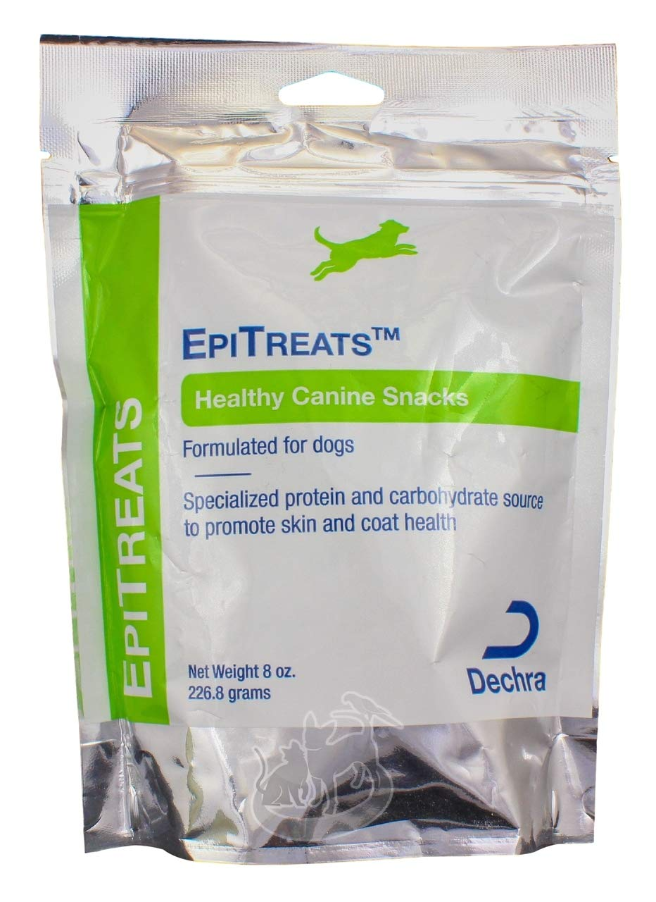 3 Packs Dechra EpiTreats Healthy Canine Treats, 8oz each