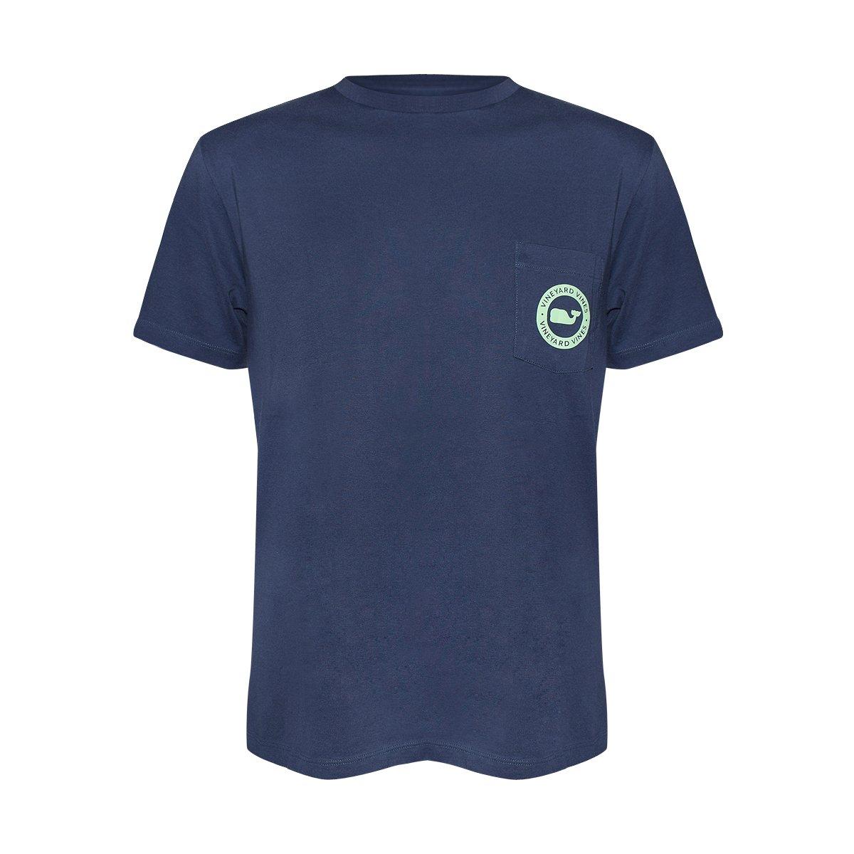 Vineyard Vinesメンズ半袖City Whale Teeシャツ B07588LRFN Small|Blue Blazer/Whale Dot Blue Blazer/Whale Dot Small
