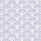 Carousel Designs Lilac Scallop Dot Fabric by the Yard - Organic 100% Cotton