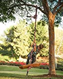Be Mindful Skateboard Swing and Climbing Rope for Children (16 Foot)