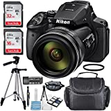 Nikon COOLPIX P900 Digital Camera with Accessory Bundle and Cleaning Accessories