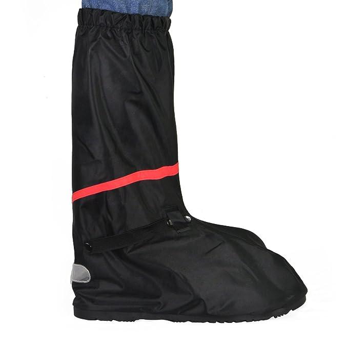 KEESIN Scarpe impermeabili in pelle scarpe coprenti riutilizzabili pioggia Copri resistenti a scorrimento con cerniera riflettente per attività all'aperto(42-43 EU) Salida Exclusiva Almacenista Geniue Envío Libre Asombroso Salida En Italia fwomf9