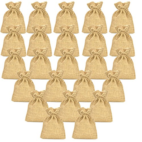 Firefly Craft Burlap Bags, 4 X 6 Inch, 24 (Mlb Medium Gift Bag)