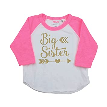 d7a8b758 Image Unavailable. Image not available for. Color: Big Sister Shirt ...