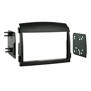 Metra 95-7320 Double DIN Installation Dash Kit for 2006-2008 Hyundai Sonata -Black