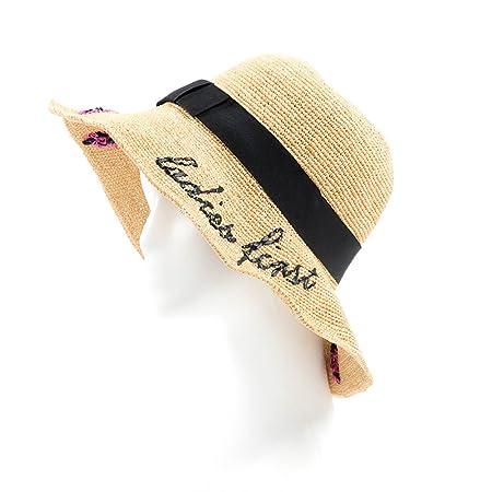 41a167001 Sunhat CHUNLAN Lady summer Raffia Hand weaving Sunshade straw hat ...