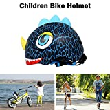 BATFOX Children Bike Helmet Outdoor Cartoon Casque Kids Skating Cycling Helmet