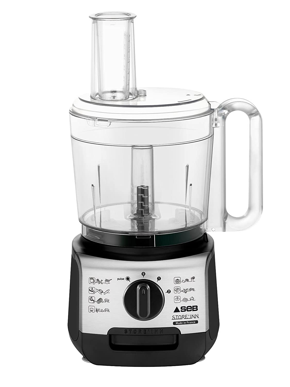 Seb DO322800 Procesador de alimentos, 750 L, capacidad de 3 L, color negro: Amazon.es: Hogar