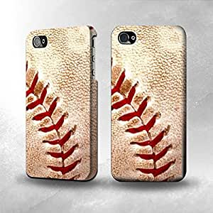 Apple iPhone 4 / 4S Case - The Best 3D Full Wrap iPhone Case - Baseball