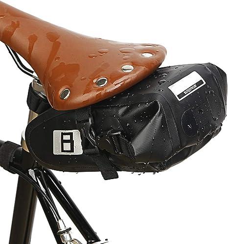BOLSAS De SillíN para Bicicleta Impermeable, con Tira Reflectante ...