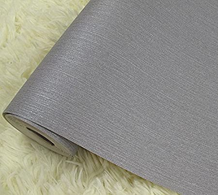 MDRW Solid Color Wallpaper Pure White Plain Grey Dark Room Background C